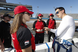 Graham Rahal, Rahal Letterman Lanigan Racing Honda with Firestone engineers