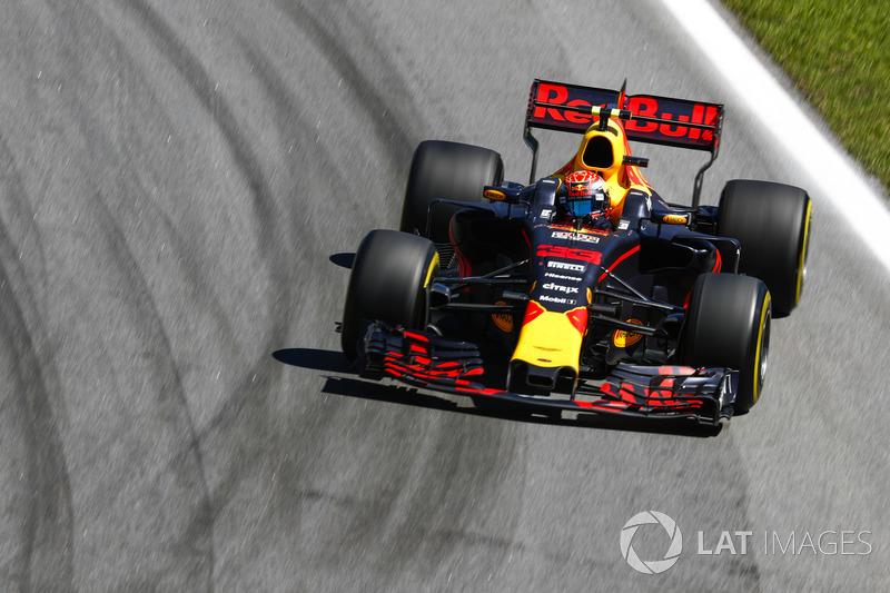 Verstappen feeling the heat in FP2