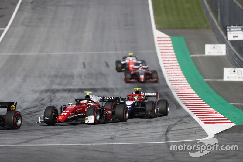 Antonio Fuoco, Charouz Racing System. suivi par Santino Ferrucci, Trident