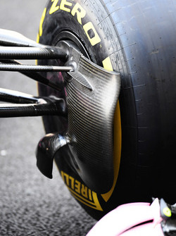 Sahara Force India VJM10 brake duct