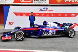 James Key, Scuderia Toro Rosso Technical Director and the new Scuderia Toro Rosso STR13