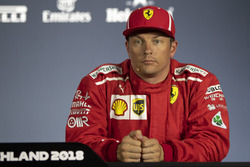 Kimi Raikkonen, Ferrari in Press Conference