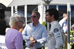Jacques Villeneuve, Sky Italia, Martin Brundle, Sky TV and Carlos Sainz Jr., Renault Sport F1 Team