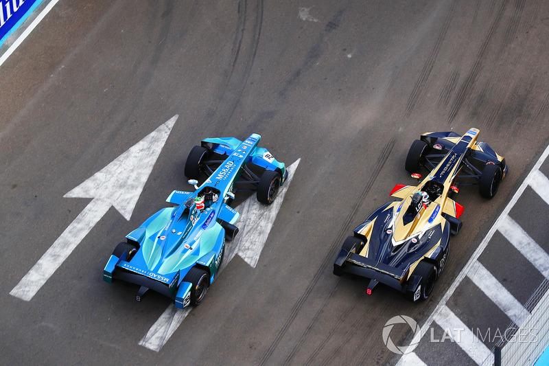 Antonio Felix da Costa, Andretti Formula E Team, lotta con Andre Lotterer, Techeetah