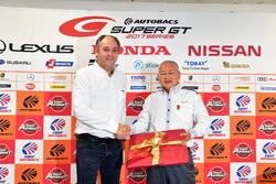 Gerhard Berger, ITR Chairman, Masaaki Bandoh, Chairman of GTA