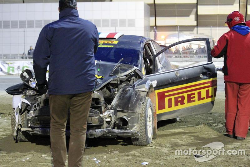 El accidente de Oliver Solberg, Ford Fiesta WRC