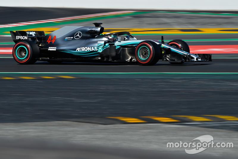 #44 Lewis Hamilton, Mercedes
