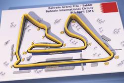 Bahrain Grand Prix circuit map