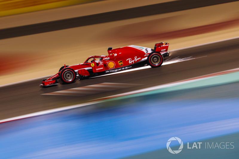 Bahreïn - Sebastian Vettel, Ferrari