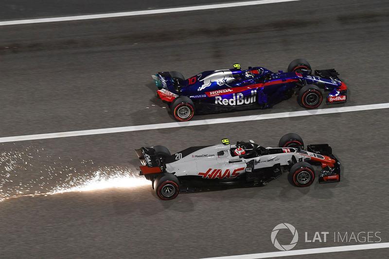 Кевін Магнуссен, Haas F1 Team VF-18, П'єр Гаслі, Scuderia Toro Rosso STR13