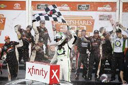 Race winner Tyler Reddick, JR Motorsports, BurgerFi Chevrolet Camaro