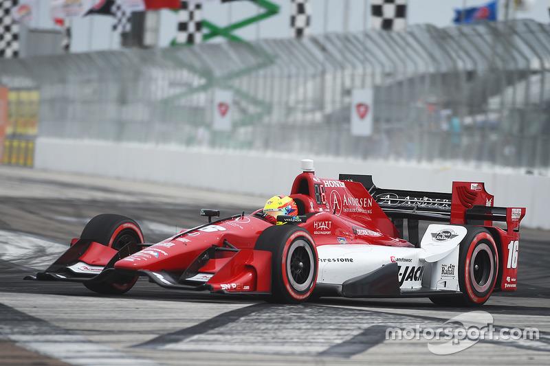 #16 Spencer Pigot (Rahal-Honda)