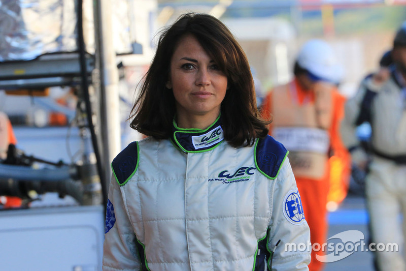 Louise Beckett, FIA WEC journalist