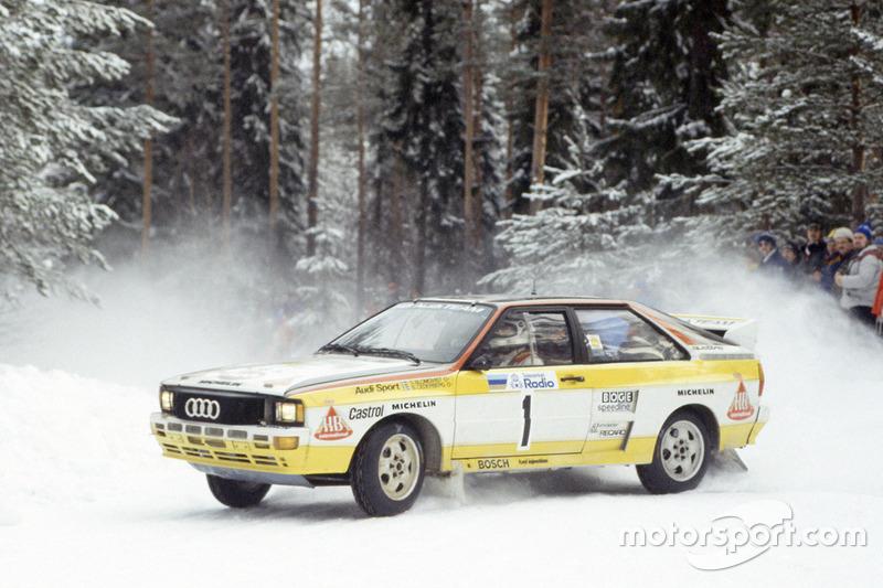 1984: Rallye-WM-Titel