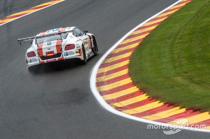 #30 Team Parker Racing, Bentley Continental GT3: CChris Harris, Derek Pierce, Carl Rosenblad, David