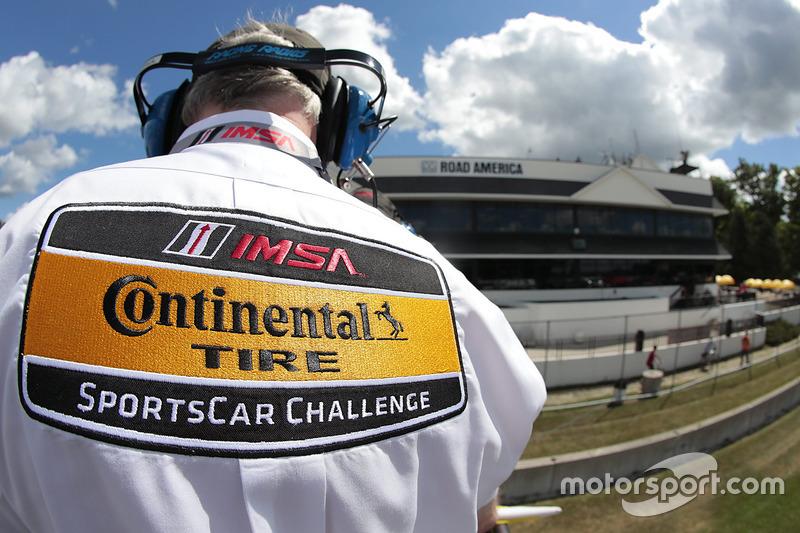 Un ufficiale Continental Tire Sportscar Challenge