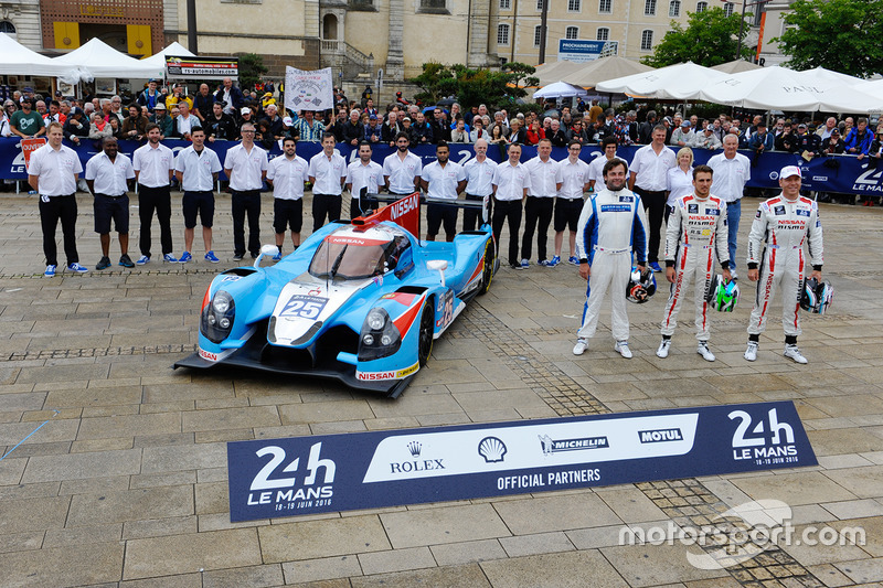 #25 Algarve Pro Racing Ligier JSP2 Nissan: Майкл Мунеманн, Кріс Хой