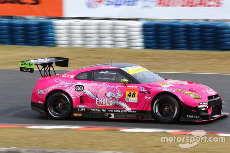 #48 Dijon Racing Nissan GT-R Nismo GT3: Hiroshi Takamori, Masaki Tanaka