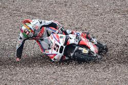 Авария Данило Петруччи, Pramac Racing