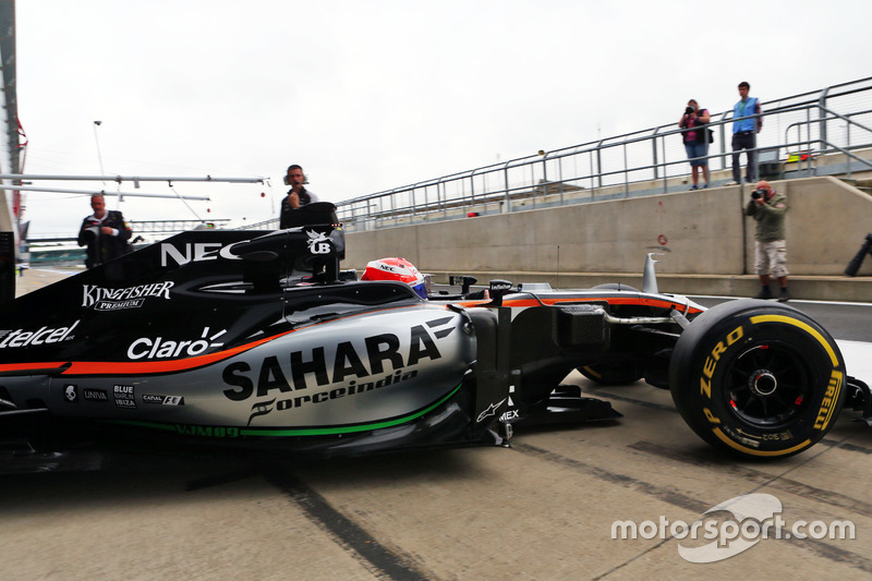 Nikita Mazepin, Sahara Force India F1 VJM09 Development Driver