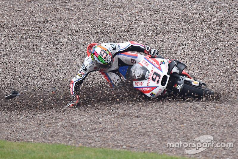 Danilo Petrucci – Ducati – Sturz