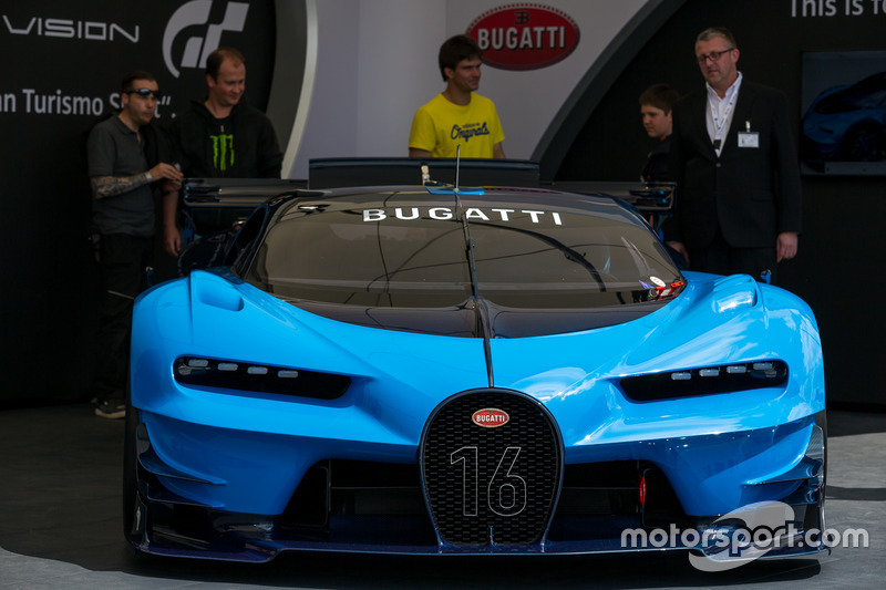 Bugatti Veyron in the paddock