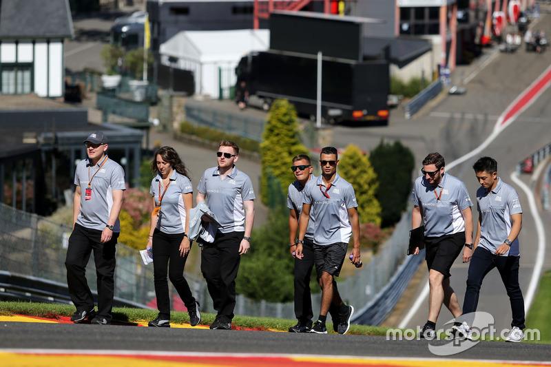 Pascal Wehrlein, Manor Racing and Rio Haryanto, Manor Racing