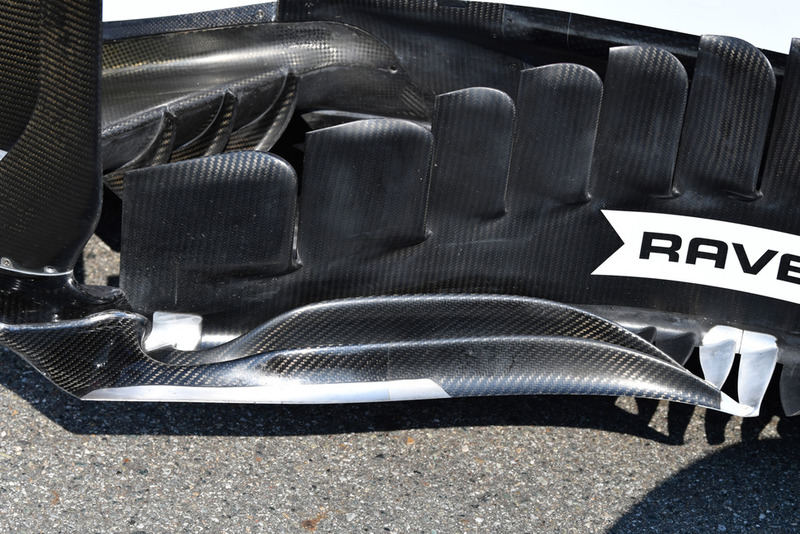 Racing Point Force India VJM11 bargeboard detail