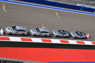 Medical Car and Safety Car line up