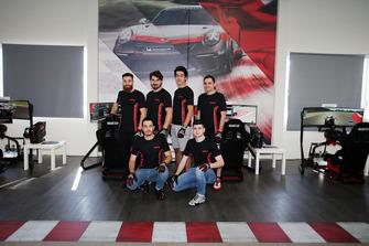 Carrera Cup Italia eSport, foto di gruppo