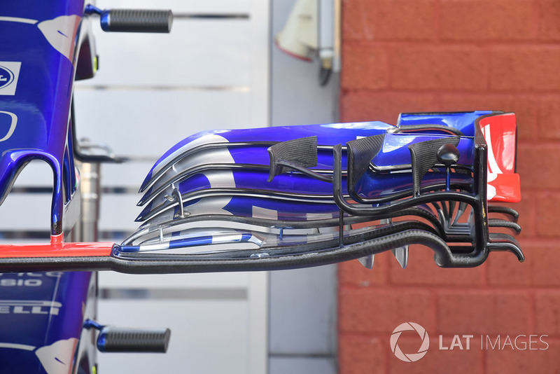 Scuderia Toro Rosso STR13, переднє антикрило