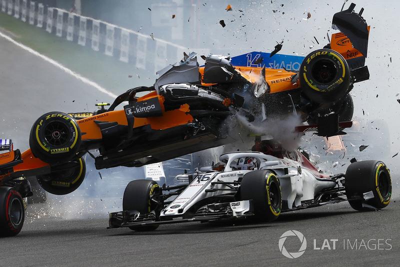 Bélgica - Nico Hülkenberg/Fernando Alonso/Charles Leclerc