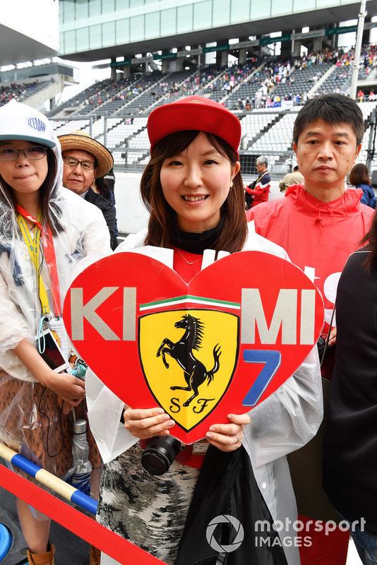 Kimi Raikkonen, Ferrari fan