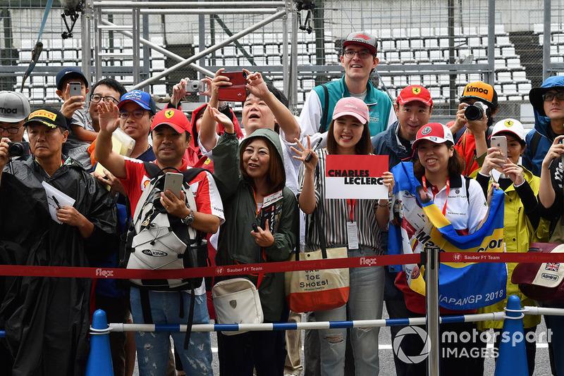 Charles Leclerc, Sauber fans