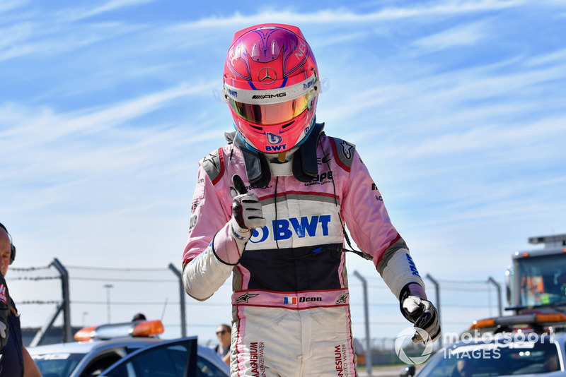 Disqualifié : Esteban Ocon (Racing Point Force India)