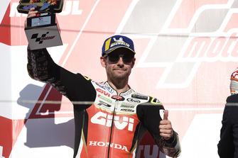 Podium: second place Cal Crutchlow, Team LCR Honda