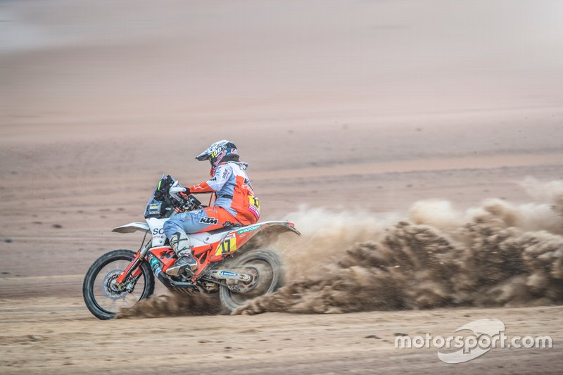 #17 Red Bull KTM Factory Racing KTM: Лайя Санс