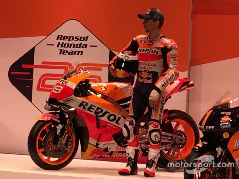Jorge Lorenzo, Honda HRC
