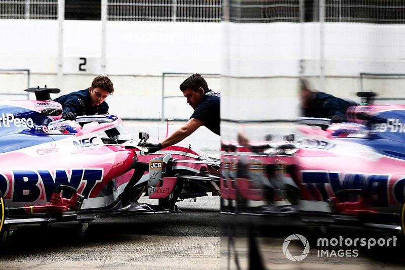 Sergio Perez, Racing Point F1 Team RP19 riflesso