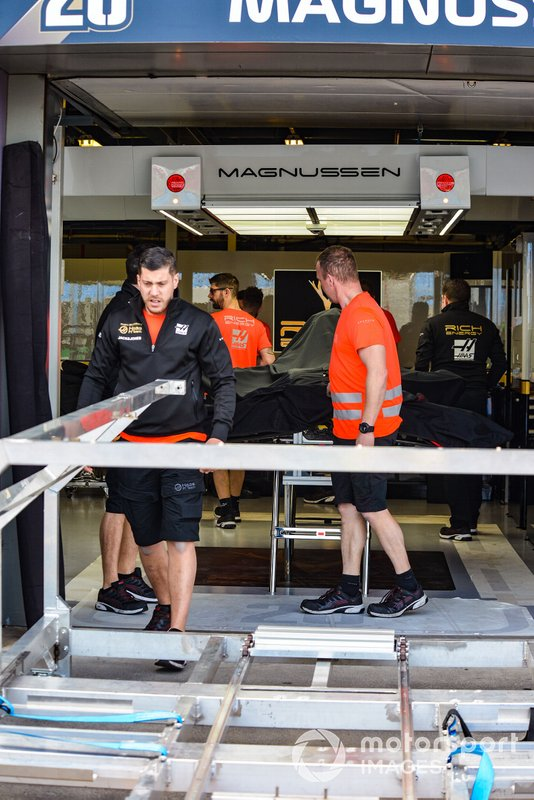 Preparativi per il Gran Premio a Melbourne