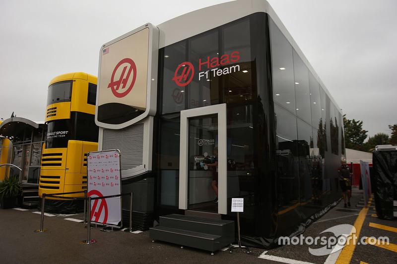 Моторхоум Haas F1 Team