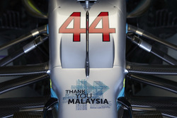A message of thanks to Malaysia for the years of racing on the nose of the car of Lewis Hamilton, Me