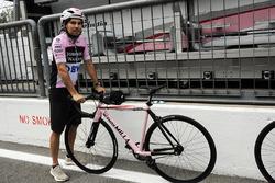 Sergio Perez, Sahara Force India and, bike