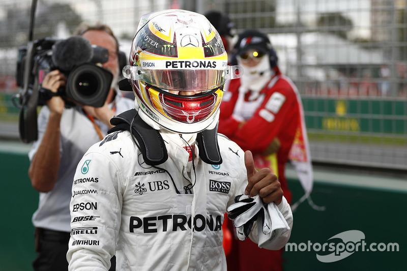1º GP de Australia 2017 - Pole para Lewis Hamilton