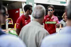 Daniel Abt, ABT Schaeffler Audi Sport und Lucas di Grassi, ABT Schaeffler Audi Sport