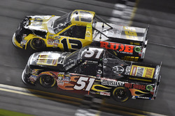 Myatt Snider, Kyle Busch Motorsports Toyota and Cody Coughlin, ThorSport Racing Toyota