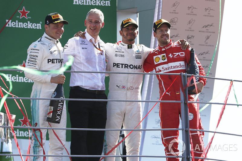 Triple empate en cantidad de podios