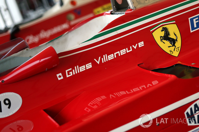 Ferrari 312 Жиля Вильнева