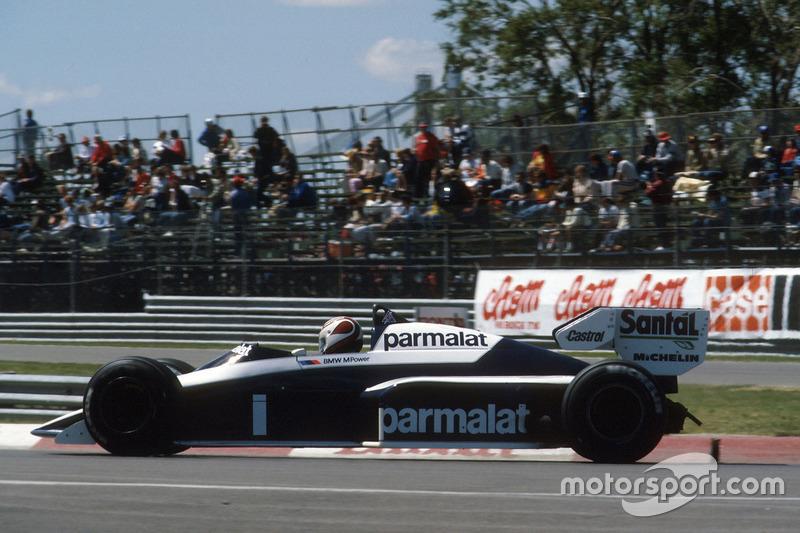 10º Nelson Piquet, Brabham BT53, Kyalami 1984. Tiempo: 1:04.871