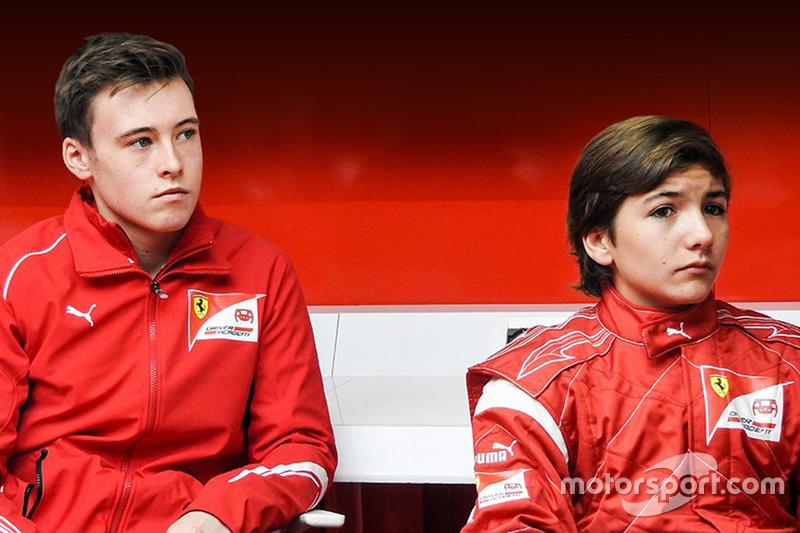 Enzo Fittipaldi, Marcus Armstrong, Ferrari Academy